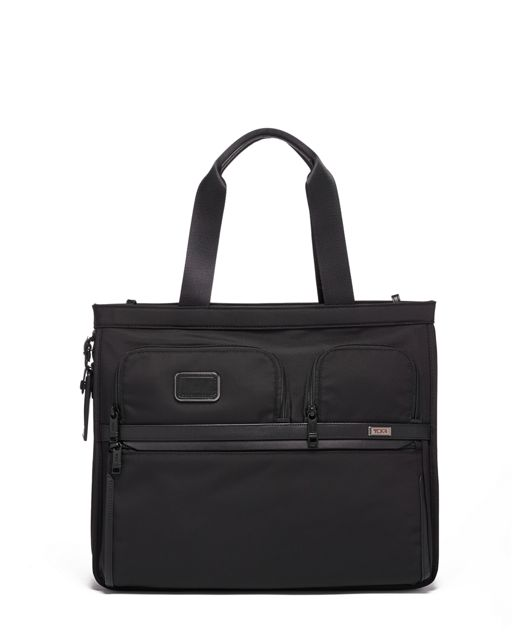 Expandable Tote in Black