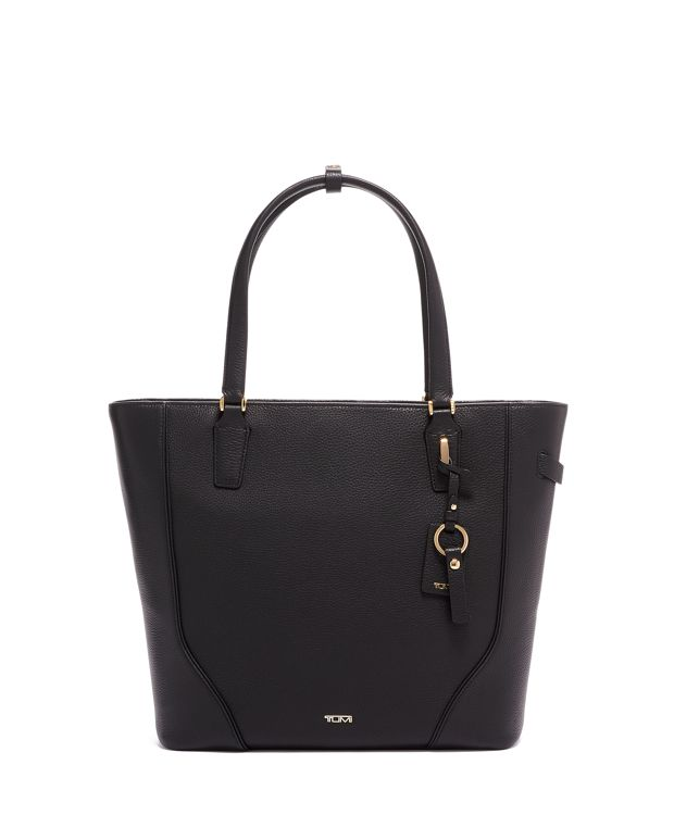 Nonie Tote in Black/Gold
