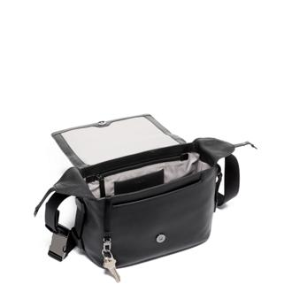 GWEN FLAP CROSSBODY Black - medium | Tumi Thailand