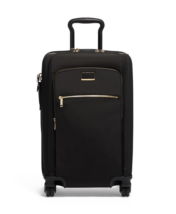 Sutter International Dual Access 4 Wheeled Carry-On in Black
