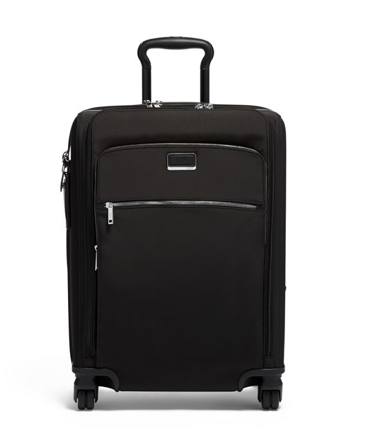 Abbey Continental Dual Access 4 Wheeled Carry-On in Black/Silver