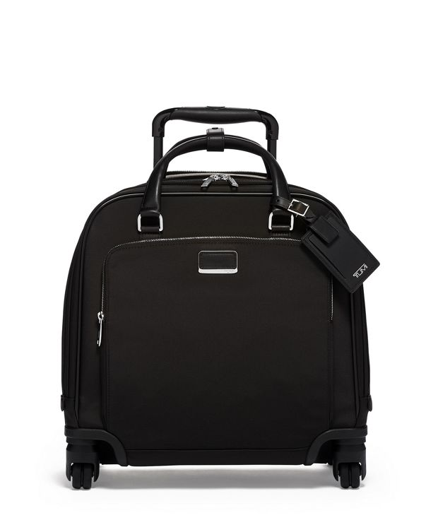 Santos Compact Carry-On in Black/Silver