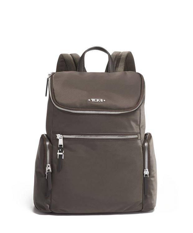 Bethany Backpack in Mink/Silver
