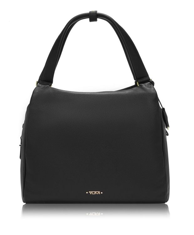 Rosario Hobo Leather in Black