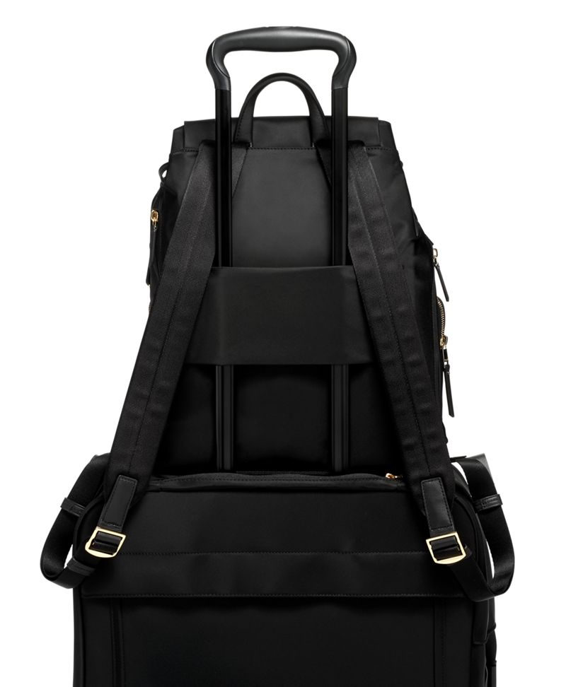 Black Rivas Backpack