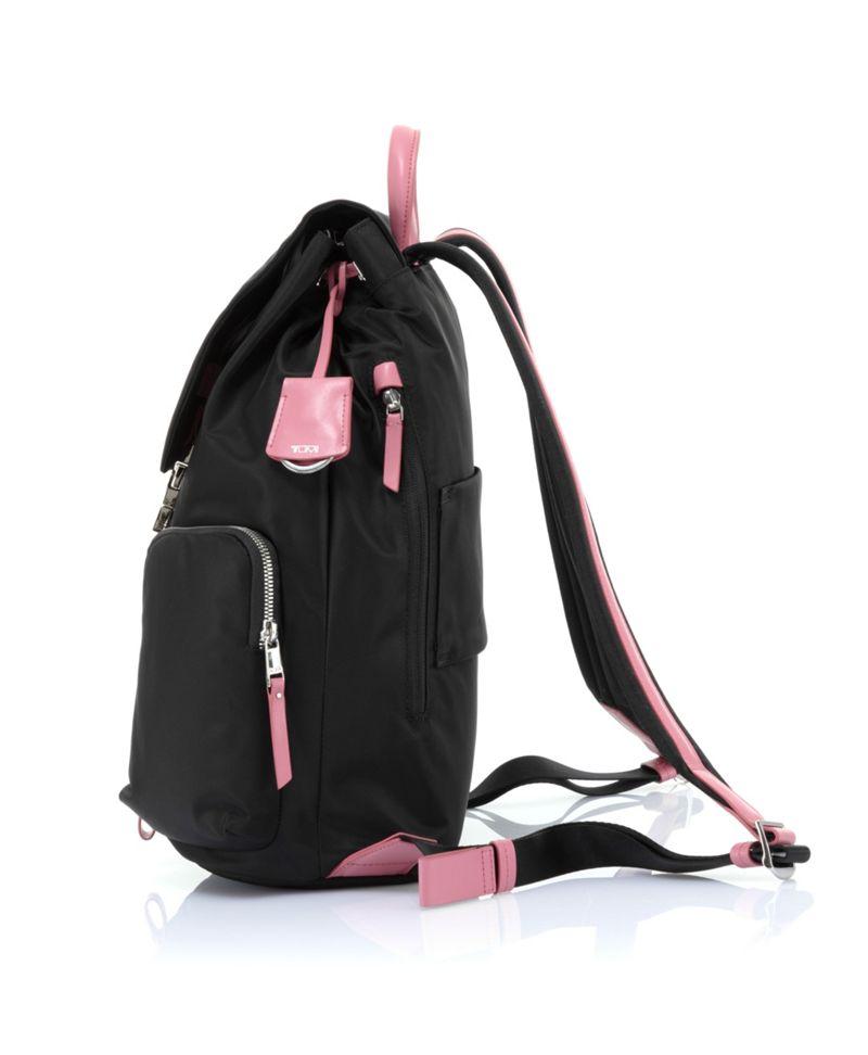 Black/Pink Voyageur Rivas Backpack