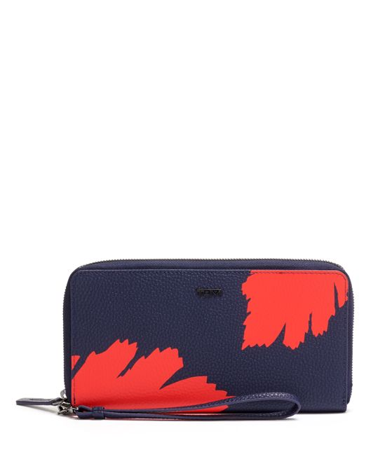Travel Wallet in Graphic Congo