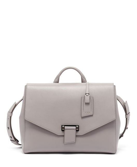 Kai Satchel in Elephant Grey