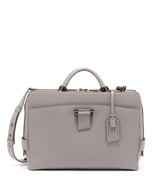 Sabrina Briefcase in Elephant Grey