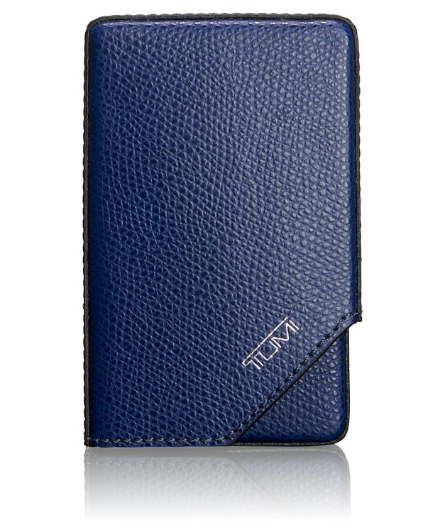 Business Card Case in Indigo