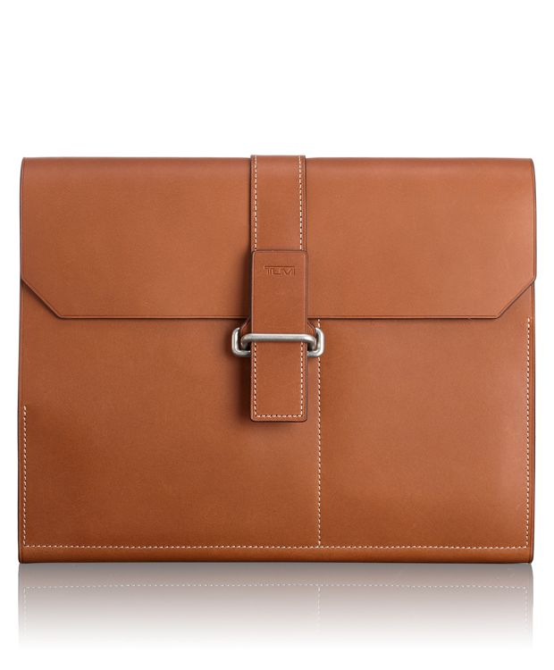 Small Clutch Folio in Whiskey