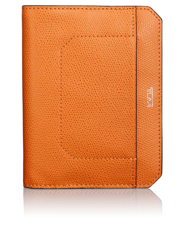 Passport Cover in Burnt Orange