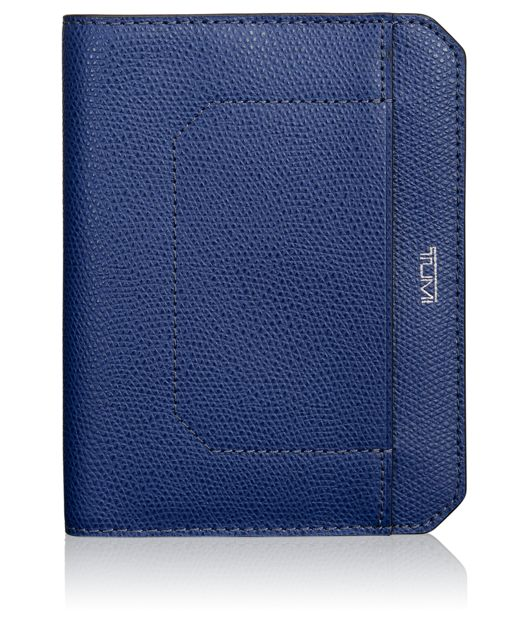 Passport Cover in Indigo