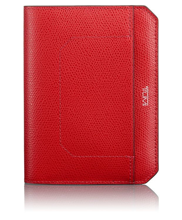 Passport Cover in Red