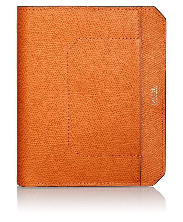 Passport Case in Burnt Orange
