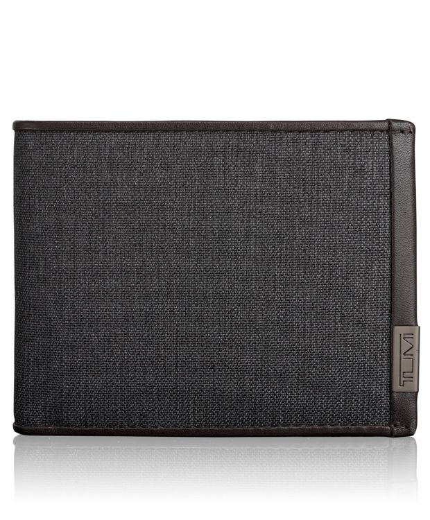 TUMI ID Lock™ Global Double Billfold in Anthracite