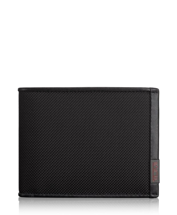TUMI ID Lock™ Global Double Billfold in Black