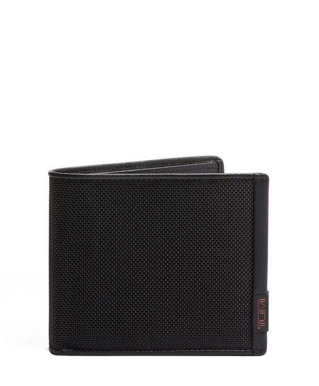 TUMI ID Lock™ Global Center Flip ID Passcase in Black
