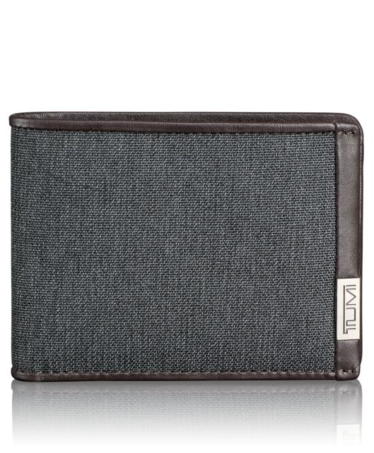 TUMI ID Lock™ Double Billfold in Anthracite