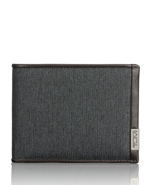 TUMI ID Lock™ Global Removable Passcase in Anthracite