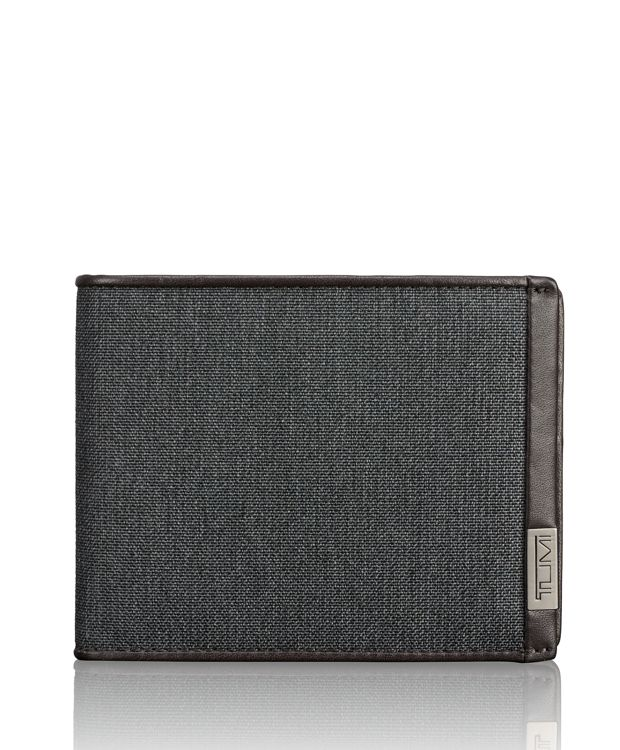 TUMI ID Lock™ Global Wallet with Coin Pocket in Anthracite