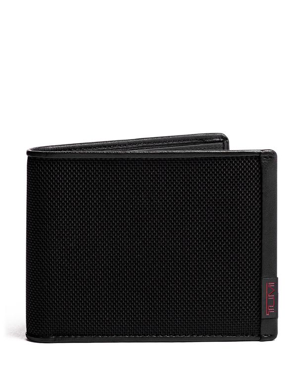 TUMI ID Lock™ Global Wallet with Coin Pocket in Black