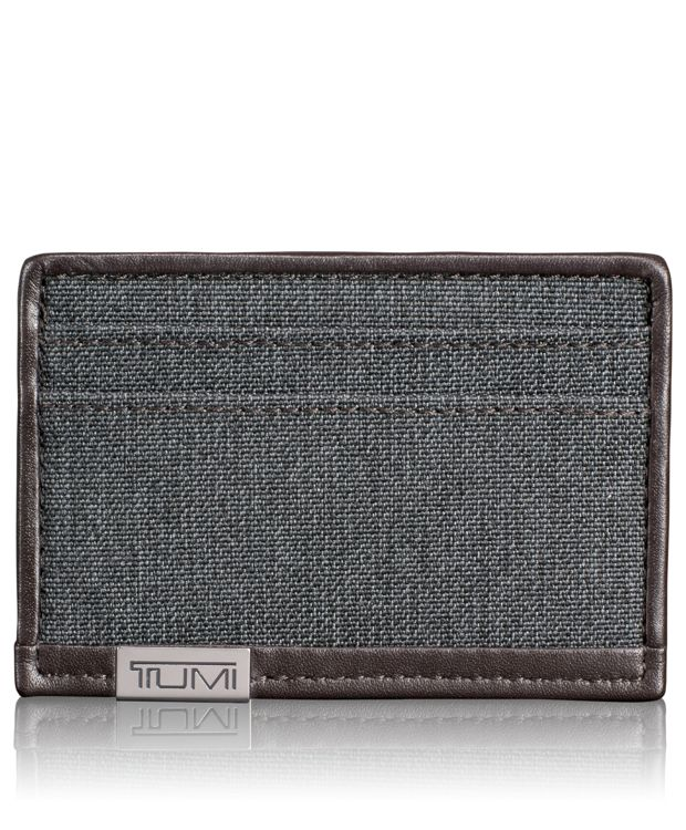 TUMI ID Lock™ Slim Card Case in Anthracite