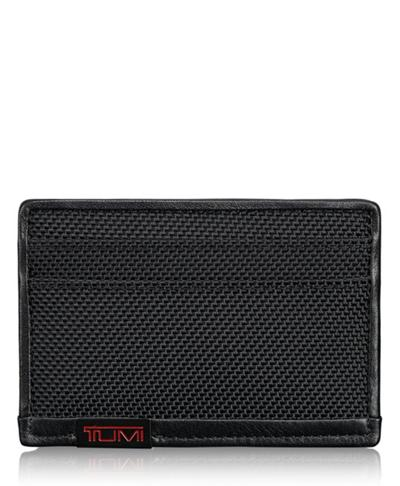 b35aa0687811 TUMI ID Lock™ Slim Card Case - Alpha - Tumi United States - Black