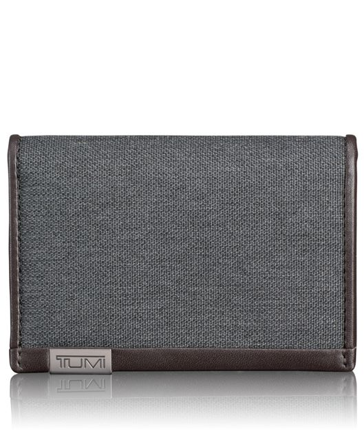 TUMI ID Lock™ Multi Window Card Case in Anthracite