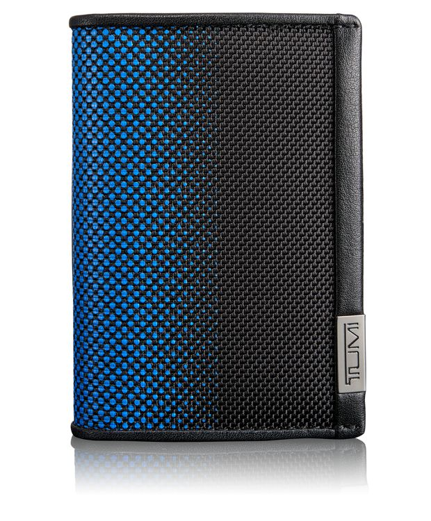 TUMI ID Lock™ Multi Window Card Case in Blue Dot Ombre
