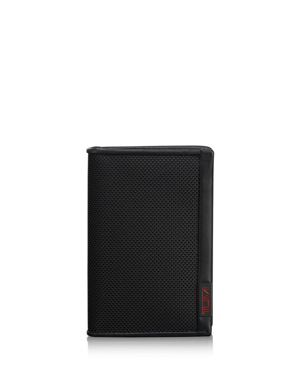 TUMI ID Lock™ Multi Window Card Case in Black