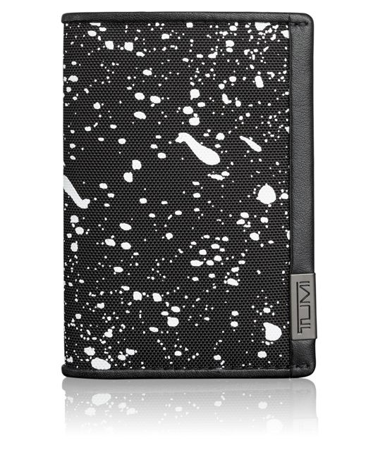 TUMI ID Lock™ Multi Window Card Case in Galaxy Print