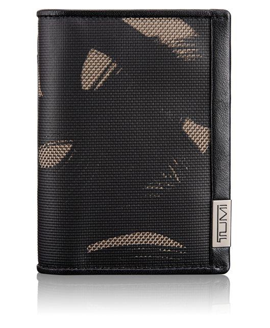 TUMI ID Lock™ Multi Window Card Case in Smoke Character