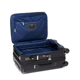3737dd289f ... International Dual Access 4 Wheeled Carry-On Leather in Black Leather  ...