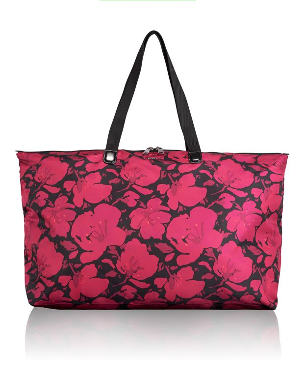 Just In Case® Tote in Magenta Floral