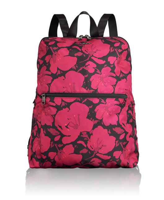 Just In Case® Backpack in Magenta Floral