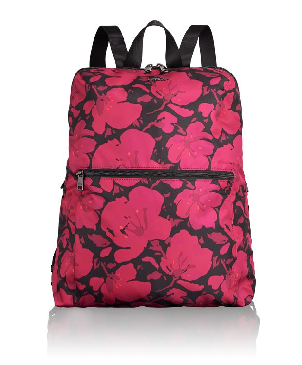 Just In Case® Backpack in Magenta Floral