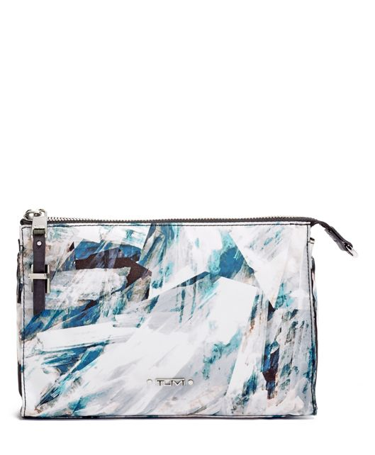 Crystalline Basel Small Triangle Pouch