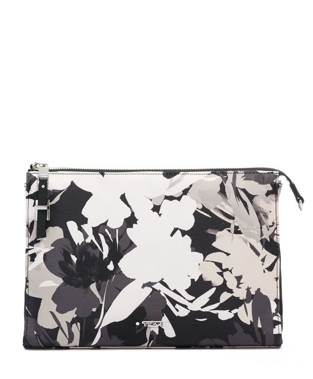 Basel Triangle Pouch in African Floral