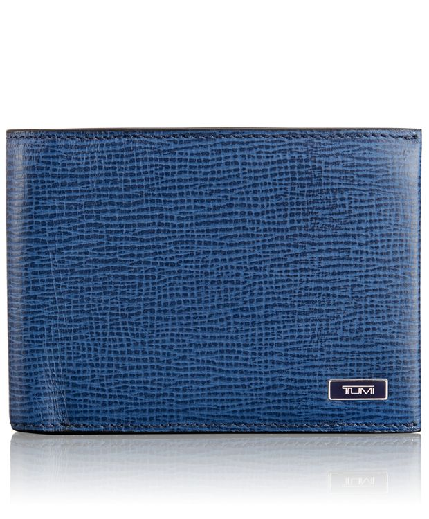 TUMI ID Lock™ Double Billfold in Cobalt