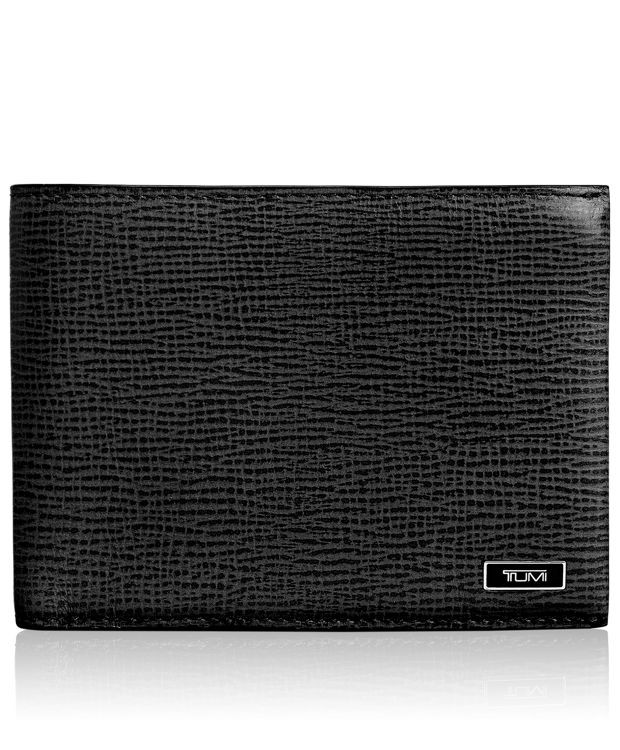 TUMI ID Lock™ Double Billfold in Black