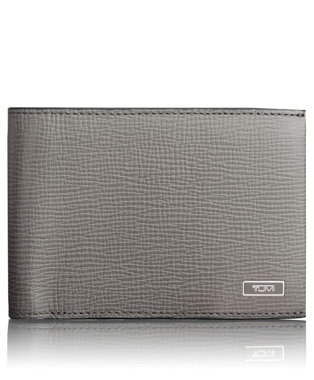 TUMI ID Lock™ Double Billfold in Grey