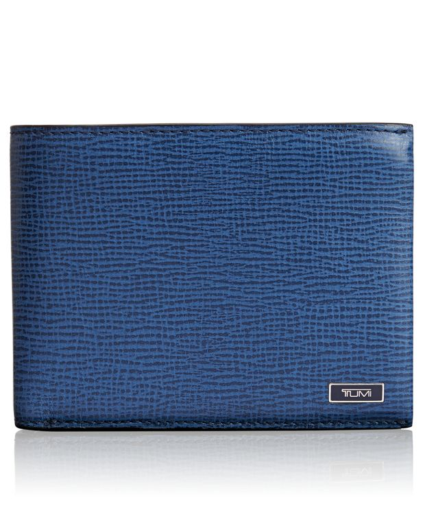 TUMI ID Lock™ Global Wallet with Coin Pocket in Cobalt