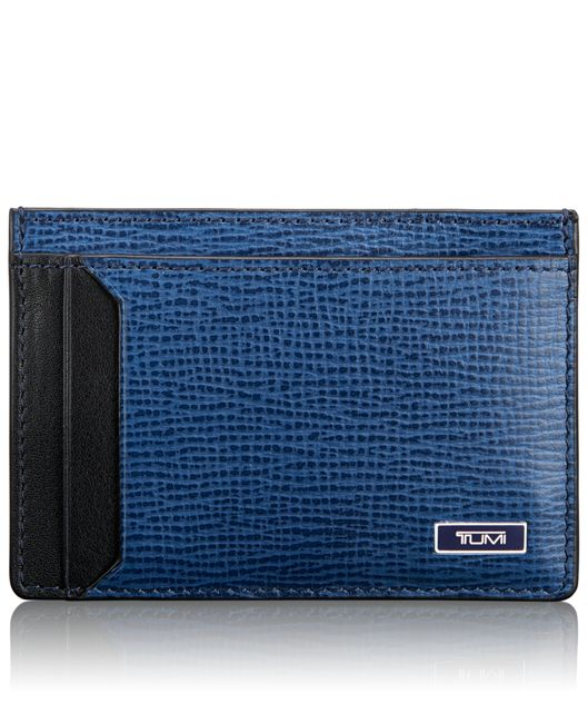 TUMI ID Lock™ Money Clip Card Case in Cobalt