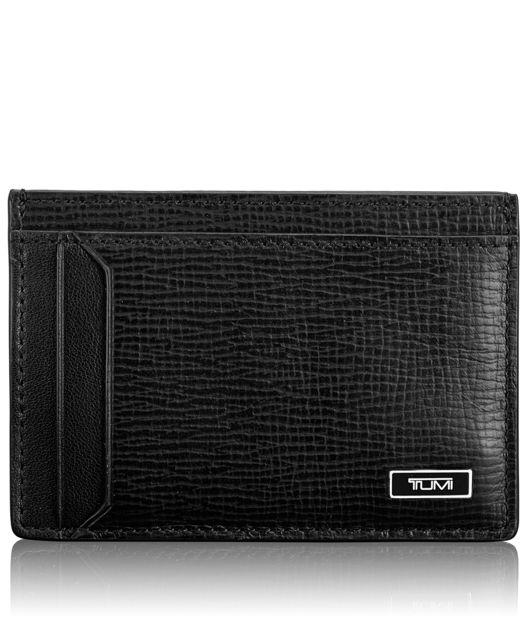 TUMI ID Lock™ Money Clip Card Case in Black