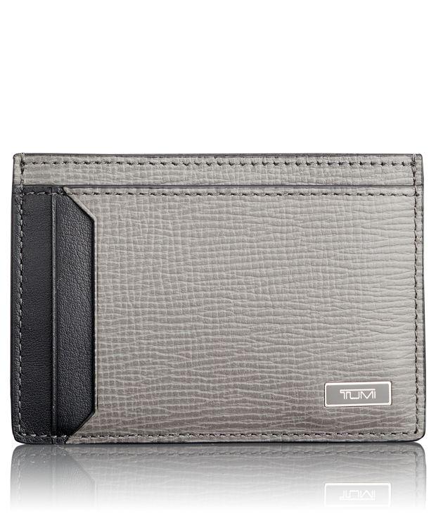 TUMI ID Lock™ Money Clip Card Case in Grey