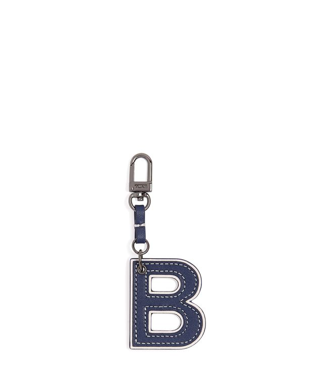 Letter Charm in B/Navy