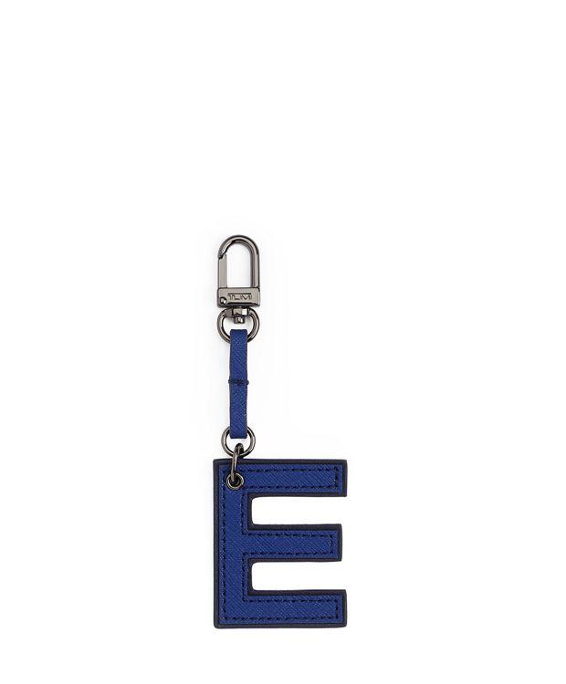 Letter Charm in E/Cobalt