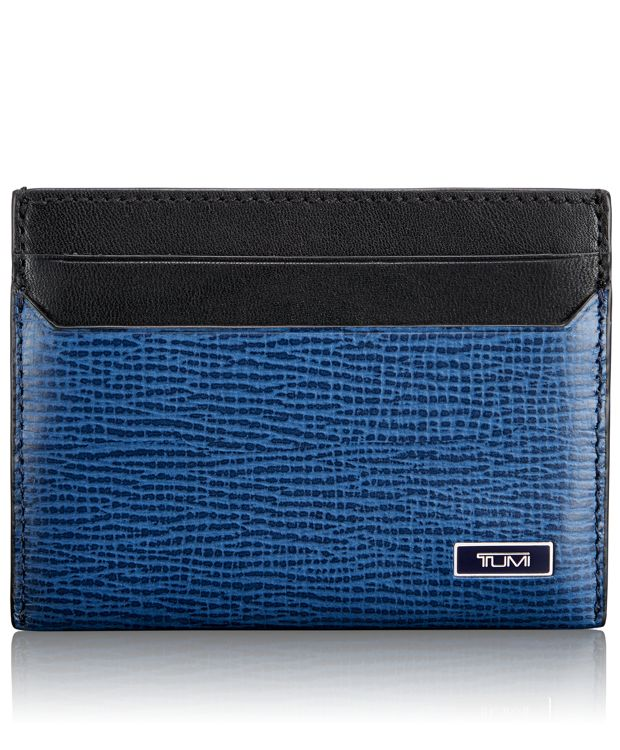 TUMI ID Lock™ Slim Card Case in Cobalt
