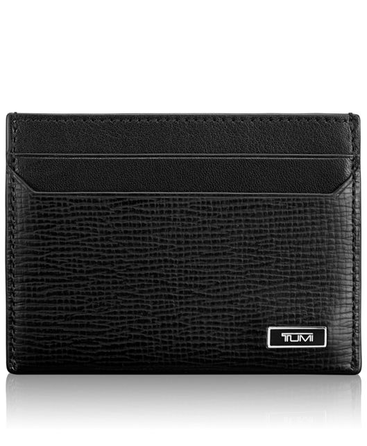 TUMI ID Lock™ Slim Card Case in Black